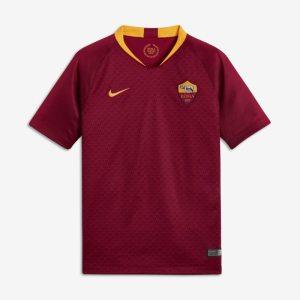 Maglia da calcio 2018/19 A.S. Roma Stadium Home - Ragazzi - Red