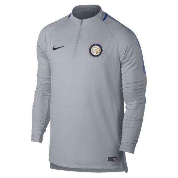 Maglia da calcio Inter Dri-FIT Squad Drill - Uomo - Grigio