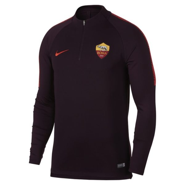 Maglia da calcio a manica lunga A.S. Roma Dri-FIT Squad Drill - Uomo - Red