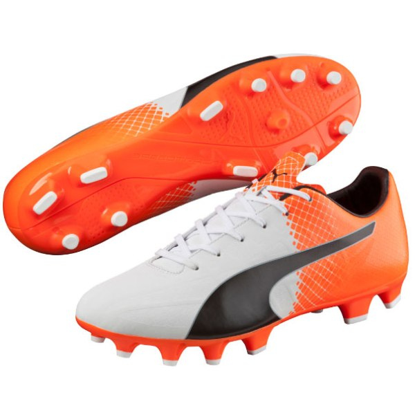 Puma - evoSPEED 4.5 FG Black / White / Red Blast