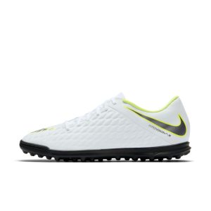 Scarpa da calcio per campi in erba artificiale/sintetica Nike HypervenomX Phantom III Club - Bianco