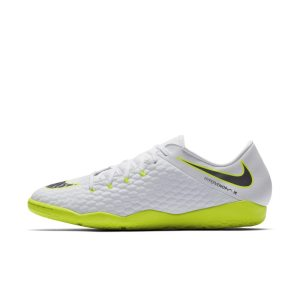 Scarpa da calcio per campi indoor Nike HypervenomX Phantom III Academy IC - Bianco