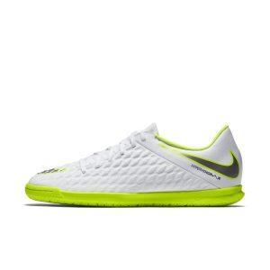 Scarpa da calcio per campi indoor Nike HypervenomX Phantom III Club IC - Bianco