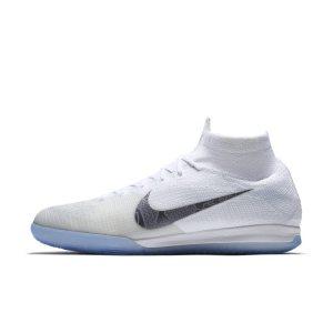 Scarpa da calcio per campi indoor Nike MercurialX Superfly 360 Elite - Bianco
