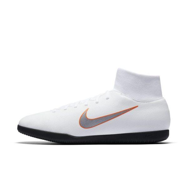 Scarpa da calcio per campi indoor Nike MercurialX Superfly VI Club IC - Bianco