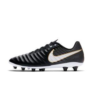Scarpa da calcio per erba artificiale Nike Tiempo Ligera IV AG-PRO - Nero