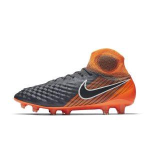 Scarpa da calcio per terreni duri Nike Magista Obra II Elite Dynamic Fit FG - Grigio