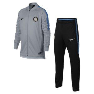 Tuta da calcio Inter Dri-FIT Squad - Ragazzi - Grigio