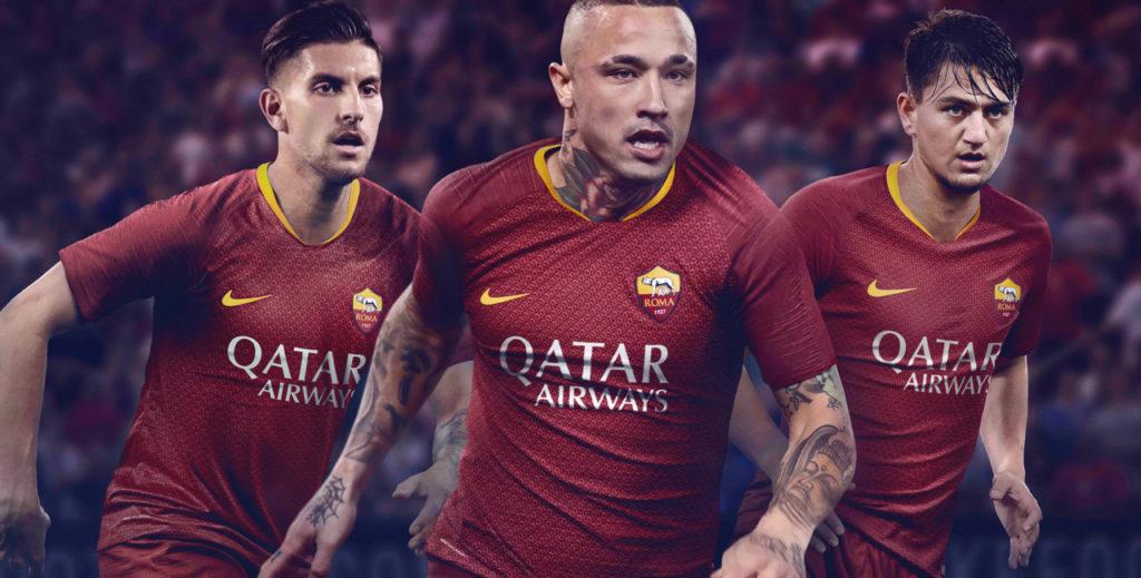 maglia roma 2019