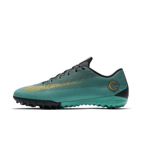 Scarpa da calcio per erba sintetica Nike MercurialX Vapor XII Academy CR7 - Verde
