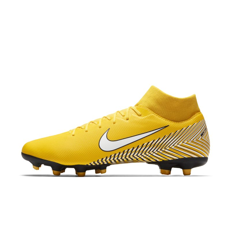 Scarpa da calcio multiterreno Nike Mercurial Superfly VI Academy Neymar - Giallo