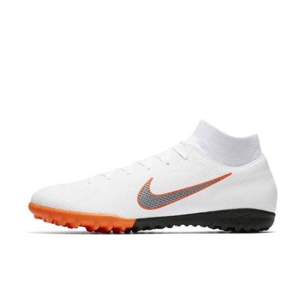 Scarpa da calcio per erba artificiale/sintetica Nike MercurialX Superfly VI Academy Just Do It - Bianco