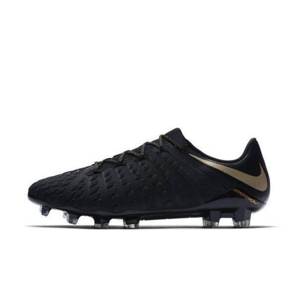 Scarpa da calcio per terreni duri Nike Hypervenom III Elite - Nero
