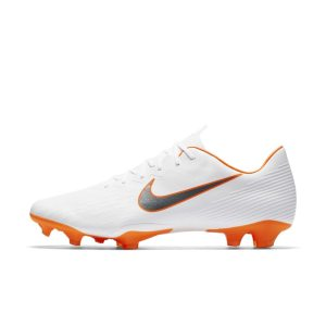 Scarpa da calcio per terreni duri Nike Mercurial Vapor XII Pro Just Do It - Bianco