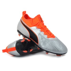 Puma - ONE 2 Lth FG / AG Shocking Orange Uprising Pack
