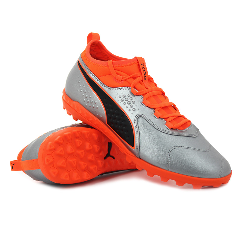Puma - ONE 3 Lth TT Shocking Orange Uprising Pack
