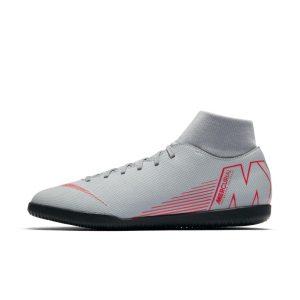 Scarpa da calcio per campi indoor Nike MercurialX Superfly VI Club IC - Grigio