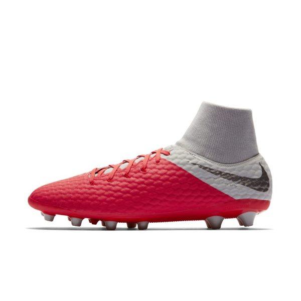 Scarpa da calcio per erba artificiale Nike Hypervenom III Academy Dynamic Fit AG-PRO - Red