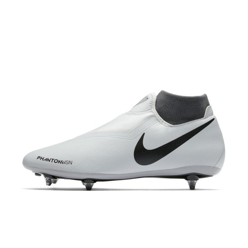 Scarpa da calcio per terreni morbidi Nike Phantom Vision Academy Dynamic Fit - Silver