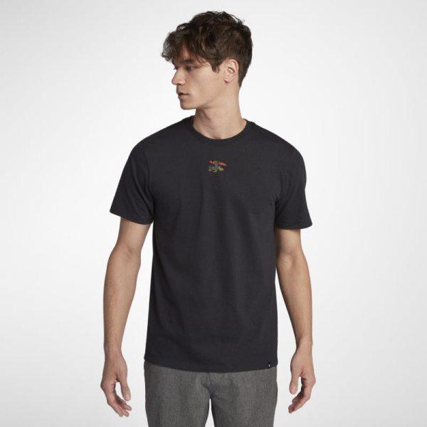 T-shirt Hurley Premium International Oversized - Uomo - Nero