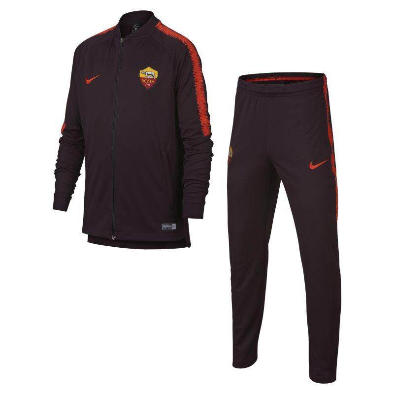 Tuta da calcio A.S. Roma Dri-FIT Squad - Ragazzi - Nero