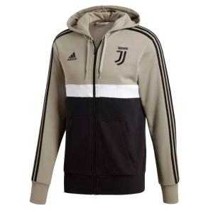 adidas - Juventus Felpa con Cappuccio Stripes Ufficale 2018-19