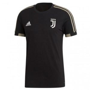 adidas - Juventus T-shirt Ufficiale 2018-19 Nera