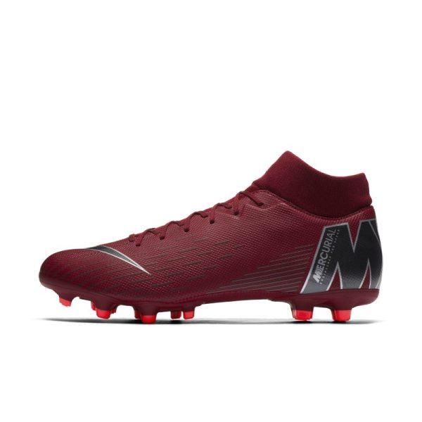 Scarpa da calcio multiterreno Nike Mercurial Superfly VI Academy MG - Red
