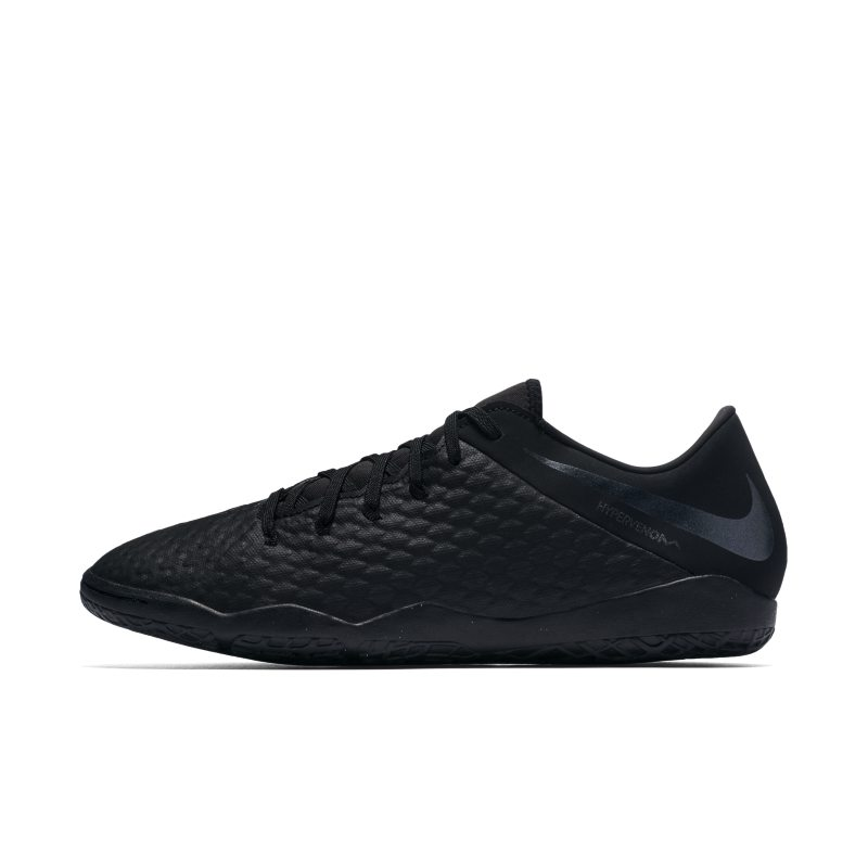 Scarpa da calcio per campi indoor Nike HypervenomX Phantom III Academy IC - Nero