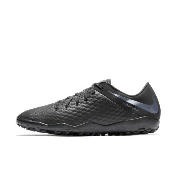 Scarpa da calcio per erba artificiale/sintetica Nike HypervenomX III Academy TF - Nero