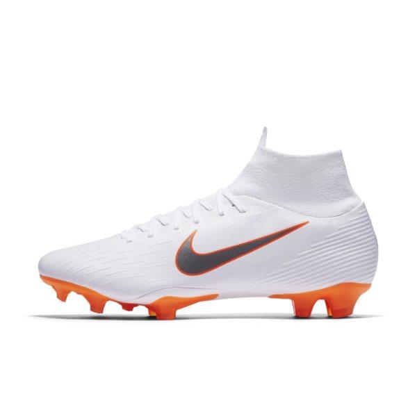 Scarpa da calcio per terreni duri Nike Mercurial Superfly VI Pro Just Do It - Bianco