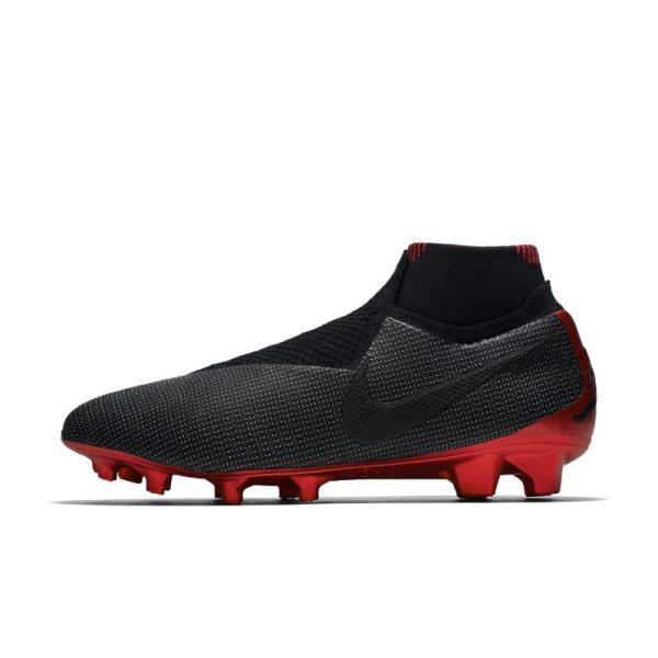Scarpa da calcio per terreni duri Nike PhantomVSN Elite Dynamic Fit SE FG - Nero