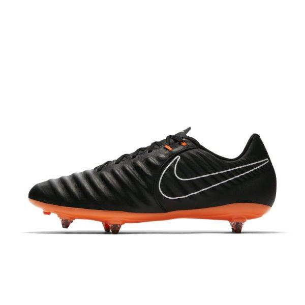 Scarpa da calcio per terreni morbidi Nike Tiempo Legend VII Academy - Nero