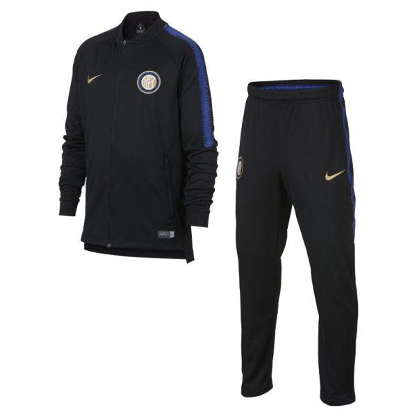 Tuta da calcio Inter Dri-FIT Squad - Ragazzi - Nero