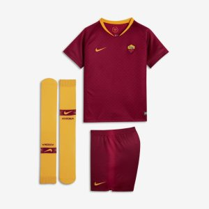 Kit da calcio 2018/19 A.S. Roma Stadium Home - Bambini - Red