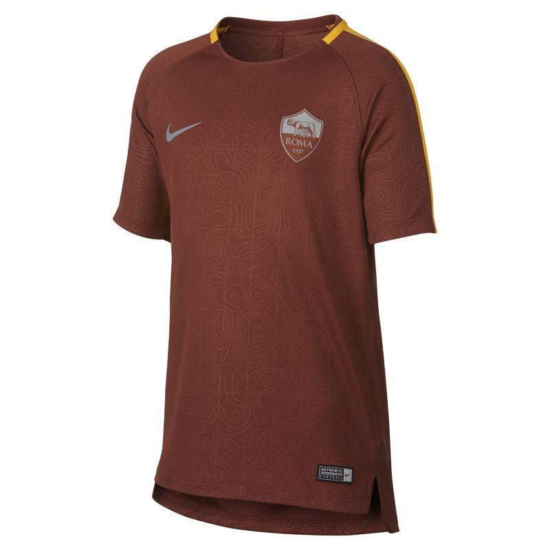 Maglia da calcio A.S. Roma Dri-FIT Squad - Ragazzi - Marrone