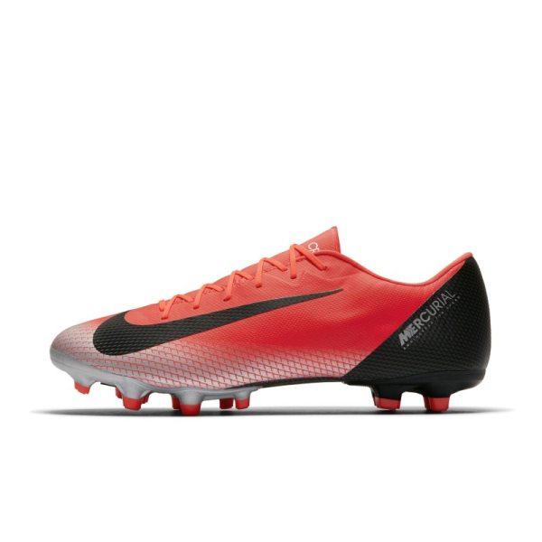 Scarpa da calcio multiterreno Nike Mercurial Vapor XII Academy CR7 - Red