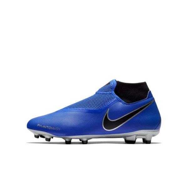Scarpa da calcio multiterreno Nike Phantom Vision Academy Dynamic Fit - Blu
