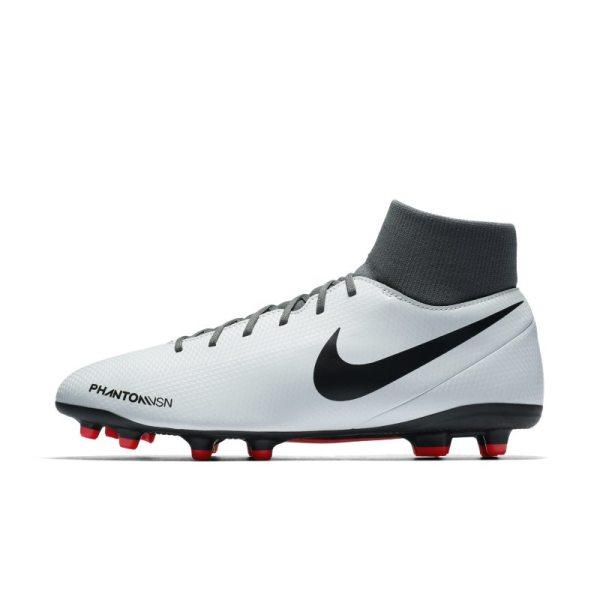 Scarpa da calcio multiterreno Nike Phantom Vision Club Dynamic Fit - Silver