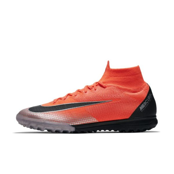 Scarpa da calcio per campi in erba sintetica Nike MercurialX Superfly 360 Elite CR7 TF - Red