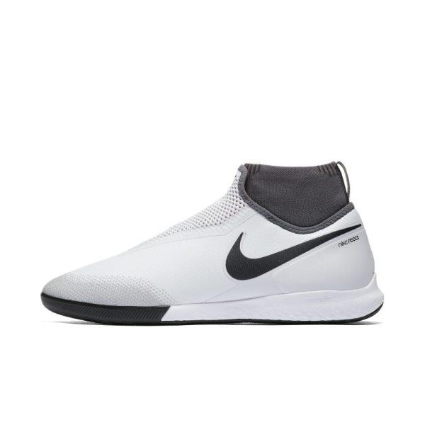 Scarpa da calcio per campo indoor/cemento Nike React Phantom Vision Pro Dynamic Fit - Silver