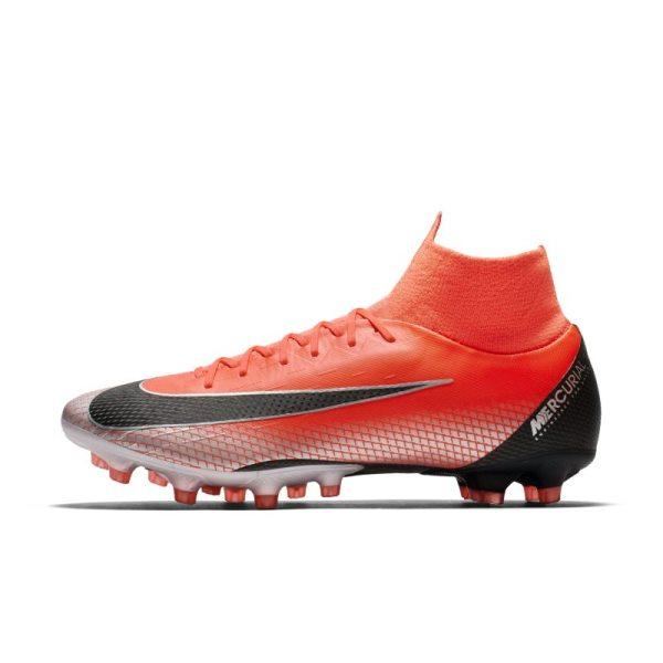 Scarpa da calcio per erba artificiale Nike Mercurial Superfly VI Pro CR7 AG-PRO - Red