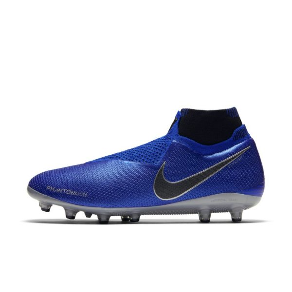 Scarpa da calcio per erba artificiale Nike Phantom Vision Elite Dynamic Fit - Blu
