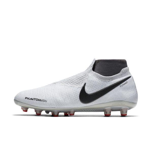 Scarpa da calcio per erba artificiale Nike Phantom Vision Elite Dynamic Fit - Silver