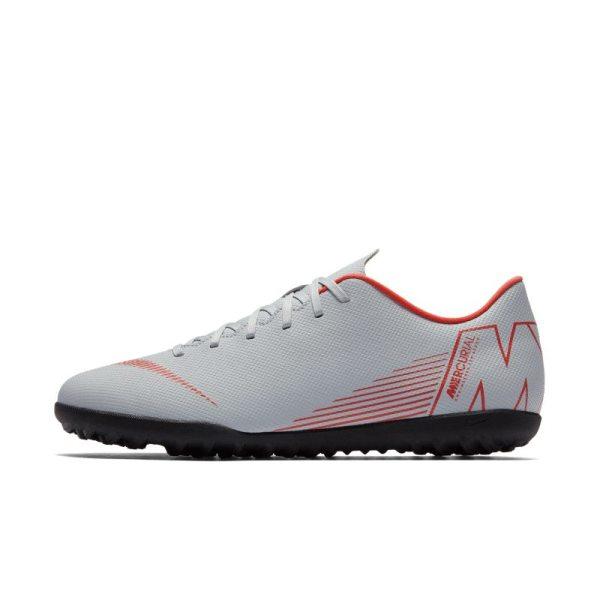 Scarpa da calcio per erba sintetica Nike MercurialX Vapor XII Club - Grigio