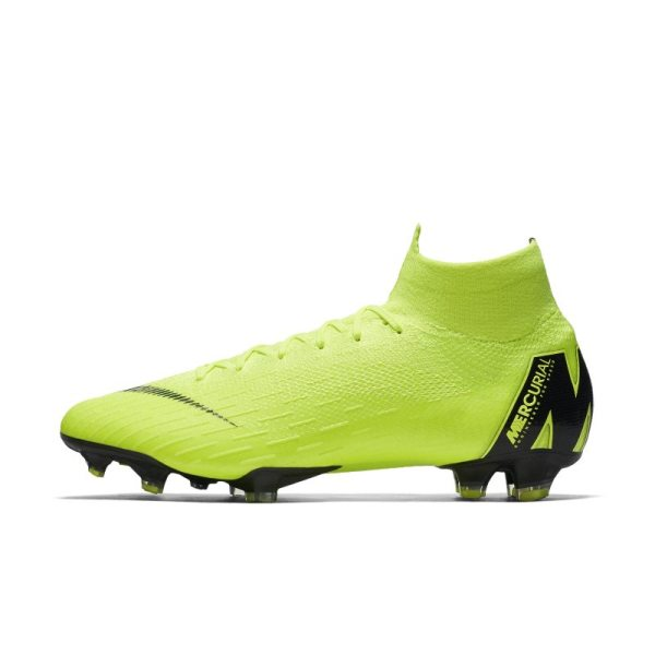 Scarpa da calcio per terreni duri Nike Mercurial Superfly 360 Elite - Giallo