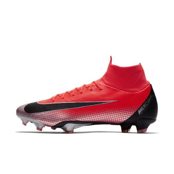 Scarpa da calcio per terreni duri Nike Mercurial Superfly VI Pro CR7 - Red