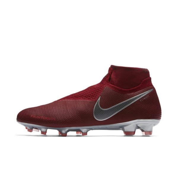 Scarpa da calcio per terreni duri Nike Phantom Vision Elite Dynamic Fit - Red