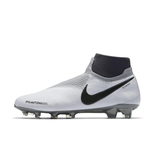 Scarpa da calcio per terreni duri Nike Phantom Vision Elite Dynamic Fit - Silver