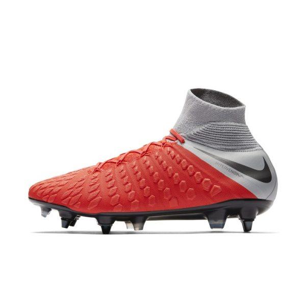 Scarpa da calcio per terreni morbidi Nike Hypervenom III Elite Dynamic Fit Anti-Clog SG-PRO - Red